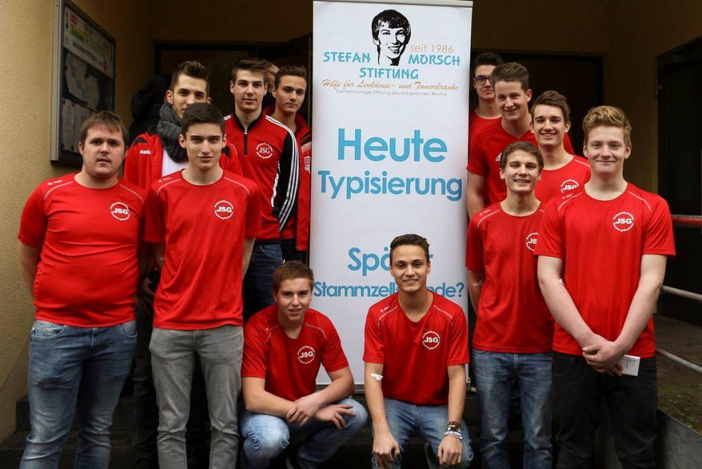A-Jugend nimmt an Typisierungsaktion der Stefan-Morsch-Stiftung teil