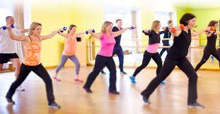 Fitnesskurs der LG-Abteilung