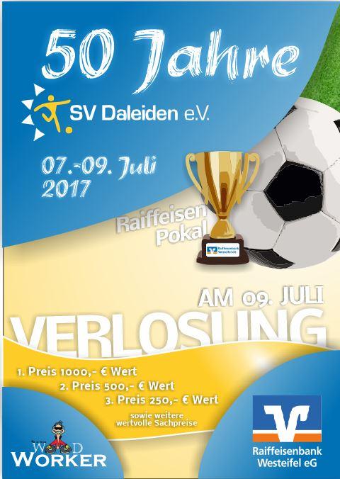 Programm Jubiläumssportfest 50 Jahre SV Daleiden 07.-09. Juli 2017