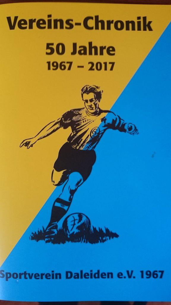 Chronik über 50 Jahre Sportverein Daleiden  1967  – 2017 zu erwerben