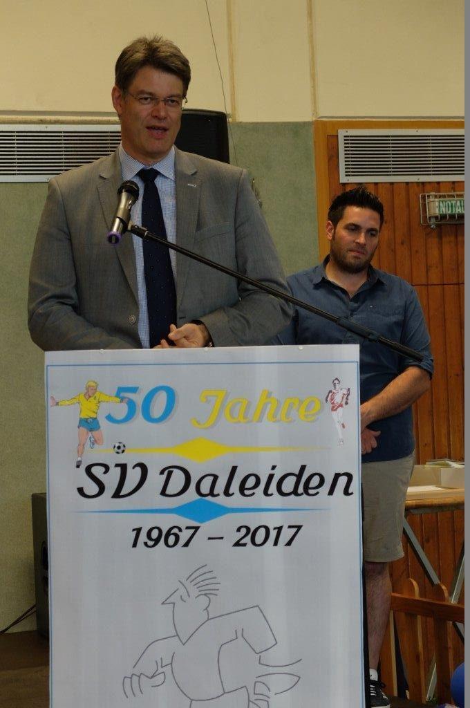 Der SV D feierte großes Vereinsjubiläum