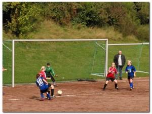 Damenmannschaft 21.09.2008 vs. SSG Kernscheid (1:5 Niederlage)