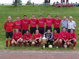 3. Mannschaft 2007 Röderpokal in Daleiden