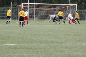 1. Mannschaft 06.04.2014 vs. SG GLÜ (3:2 Sieg)