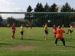 3. Mannschaft 19.10.2008 vs. SG GLÜ (Tor in dieser Spielszene)