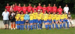 1. und 2. Mannschaft 2009 (Raiffeisenpokal Siegerfoto in Dasburg)