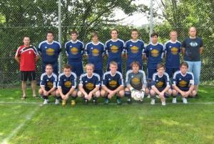 2. Mannschaft Aug. 2012 in Dasburg