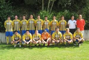 3. Mannschaft 2012 in Dasburg
