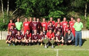 1. und 2. Mannschaft 2012 (Provinzial Cup Siegerfoto in Dasburg)